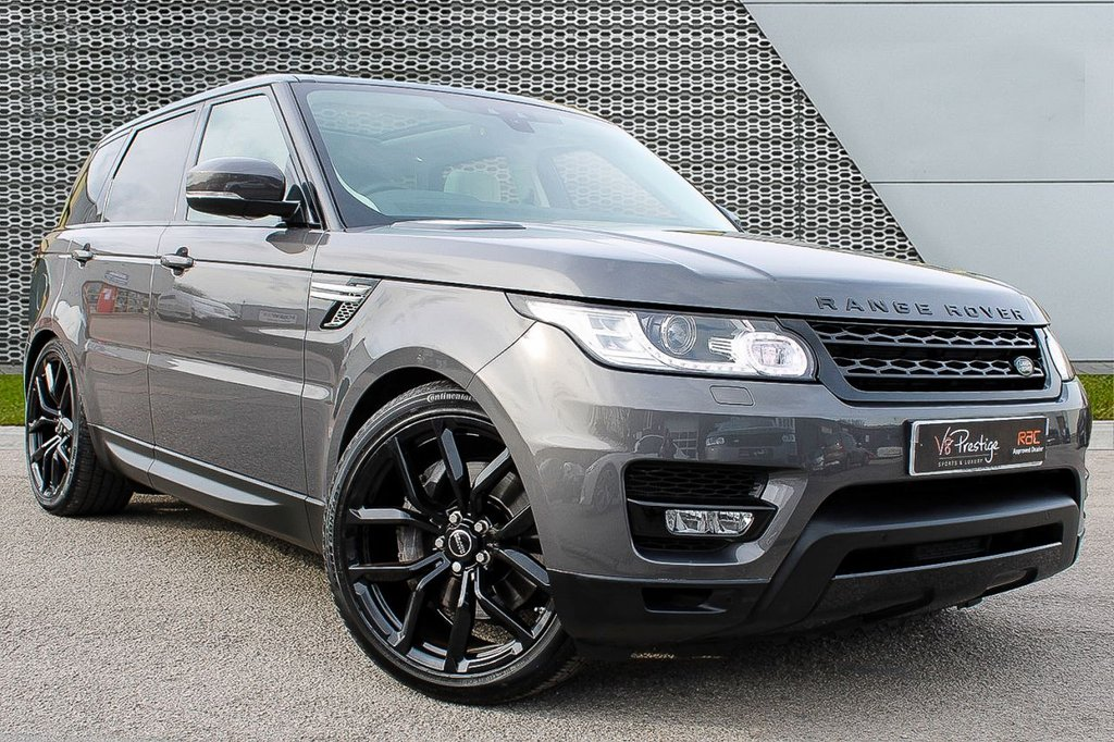 """USED 2017 66 LAND ROVER RANGE ROVER SPORT 3.0 SDV6 HSE 5d 306 BHP **V-DISPLAY/22"""" ALLOYS/PAN ROOF**"""