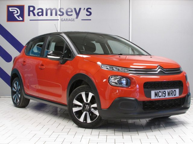 USED 2019 19 CITROEN C3 1.2 PURETECH FEEL 5d 82 BHP