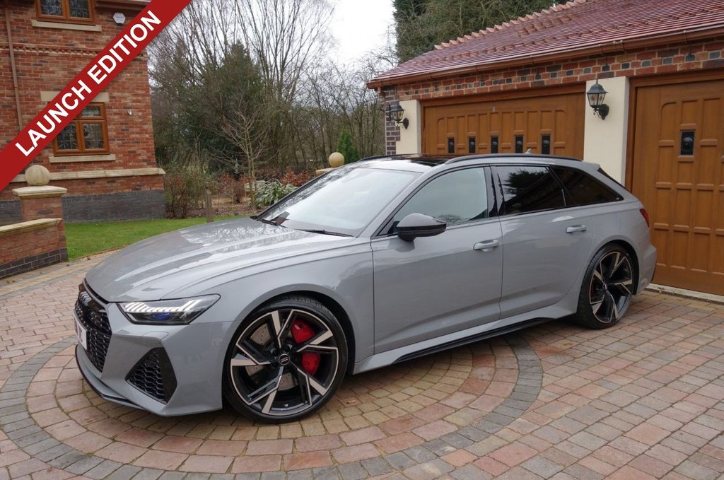 USED 2020 AUDI A6 4.0 RS 6 AVANT TFSI QUATTRO LAUNCH EDITION 5d 592 BHP *** WE OFFER FINANCE ON THIS CAR ***