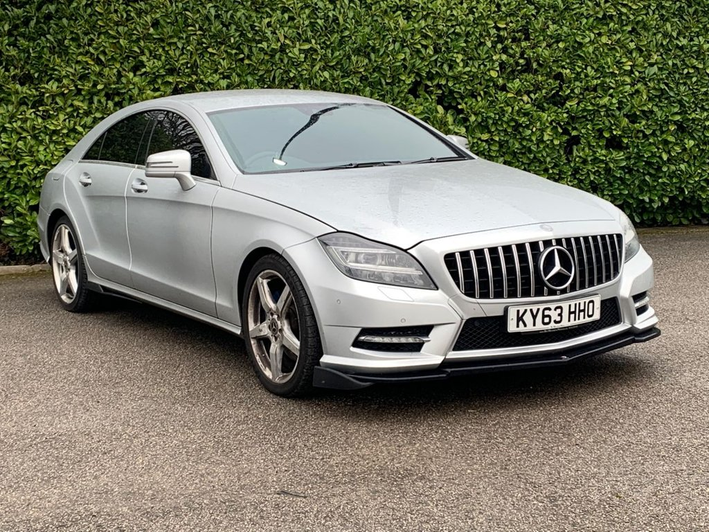 USED 2013 63 MERCEDES-BENZ CLS CLASS 3.0 CLS350 CDI BLUEEFFICIENCY AMG SPORT 4d 265 BHP
