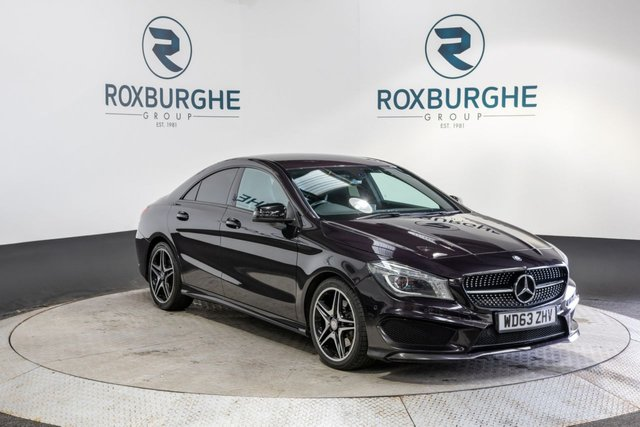 USED 2014 63 MERCEDES-BENZ CLA 2.1 CLA220 CDI AMG SPORT 4d AUTO 170 BHP COUPE