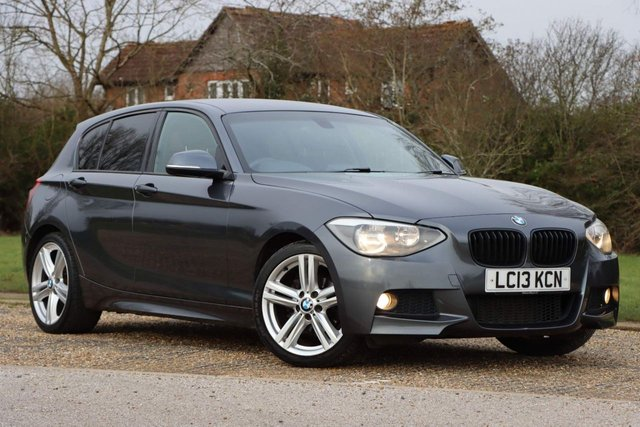 USED 2013 13 BMW 1 SERIES 2.0 118d M Sport 5dr Navigation, M SPORT 1 yrs mot