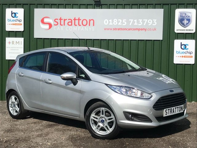 USED 2013 13 FORD FIESTA 1.6 ZETEC 5d 104 BHP AUTOMATIC