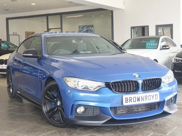 USED 2016 66 BMW 4 SERIES GRAN COUPE 2.0 420D M SPORT GRAN COUPE 4d 188 BHP BM PERFORMANCE STYLING+6.9%APR