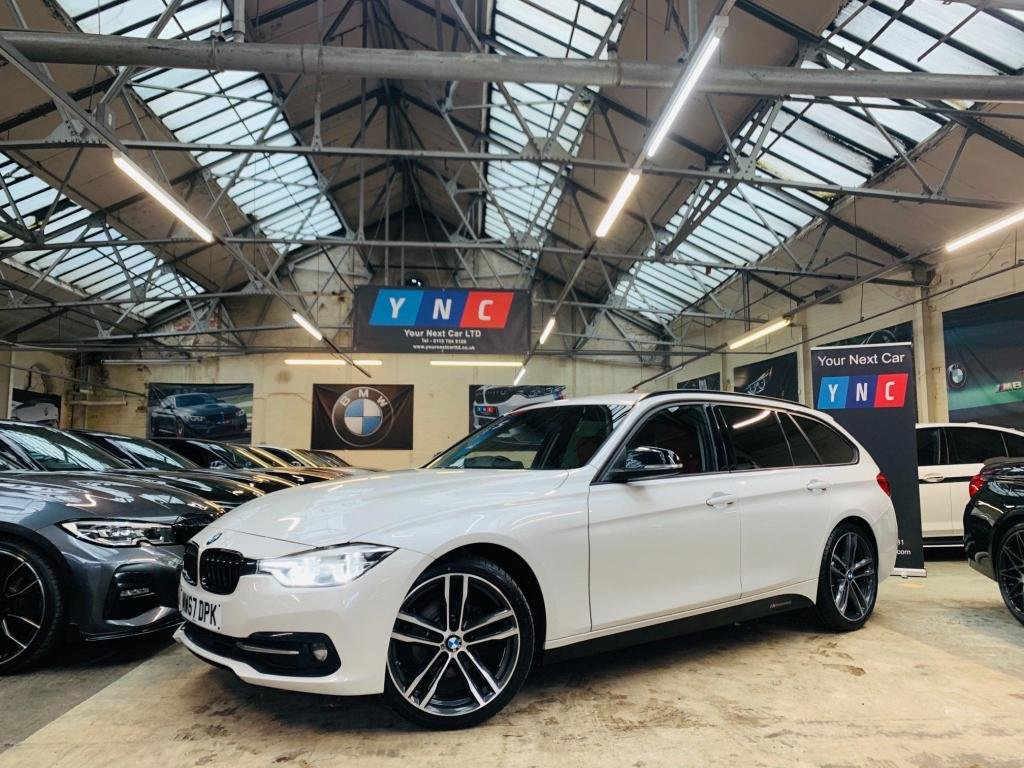 USED 2017 67 BMW 3 SERIES 2.0 320d ED Sport Touring Auto (s/s) 5dr HIGH SPEC! 1 OWNER RADAR 19S..