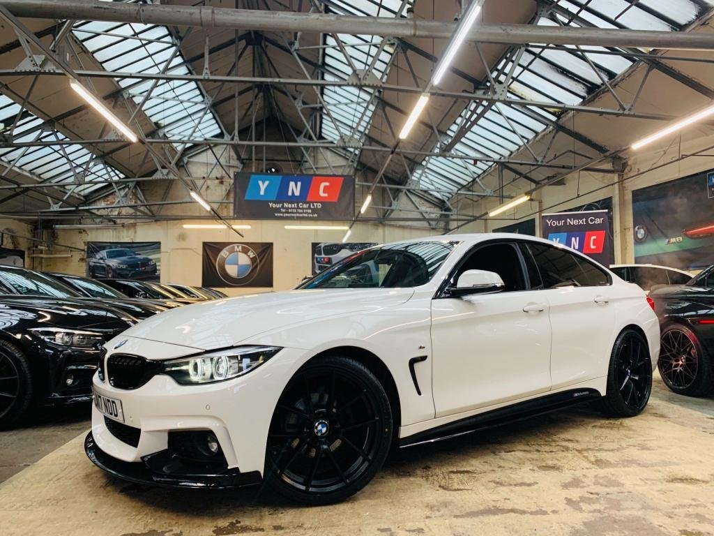 USED 2017 17 BMW 4 SERIES 2.0 420d M Sport Gran Coupe Auto (s/s) 5dr PERFORMANCE KIT 20S 1OWNER