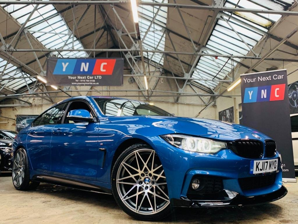 USED 2017 17 BMW 4 SERIES 2.0 420d M Sport Gran Coupe Auto (s/s) 5dr PERFORMANCE KIT 1 OWNER 20S!