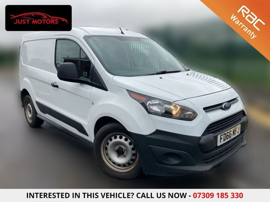 USED 2016 66 FORD TRANSIT CONNECT 1.5 220 P/V 74 BHP LOW WARRANTED MILES USB + AUX + AIR CON + NO VAT