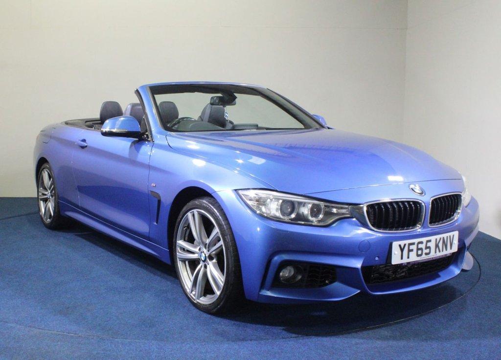 USED 2015 65 BMW 4 SERIES 3.0 435D XDRIVE M SPORT 2d 309 BHP