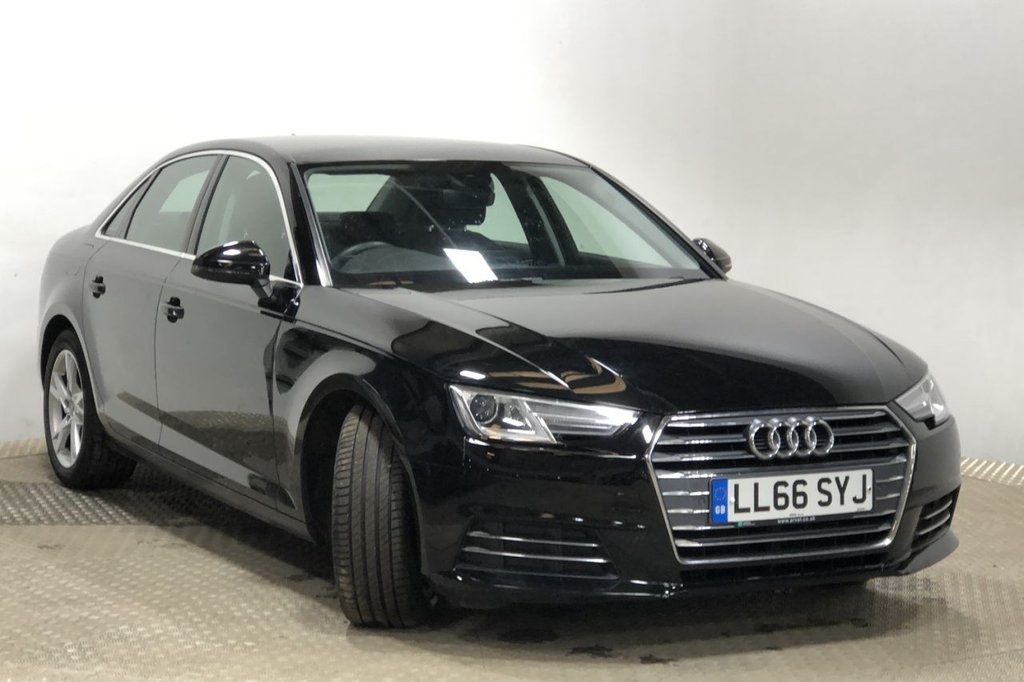 USED 2016 66 AUDI A4 2.0 TDI ULTRA SPORT 4d 188 BHP ONLY 1 OWNER FROM NEW FSH LONG MOT BREAKDOWN AND COMPREHENSIVE WARRANTY INCLUDED