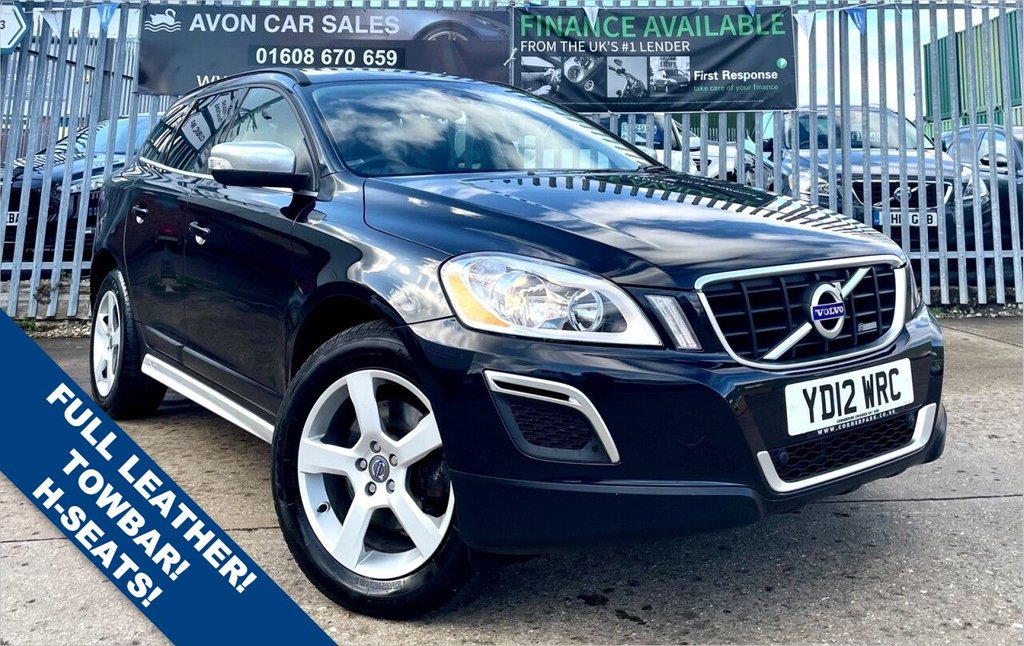 USED 2012 T VOLVO XC60 2.0 D3 DRIVE R-DESIGN 5d 161 BHP - FULL LEATHER! HEATED SEATS! TOWBAR! COMP SERVICE HISTORY!