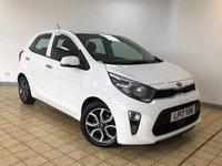 USED 2017 17 KIA PICANTO 1.2 3 5d 5 Seat Petrol Hatchback AUTO with Great High Spec and Stunning in White. Recent Service & MOT, Now Ready to Drive Away Today. 1 Former Keeper