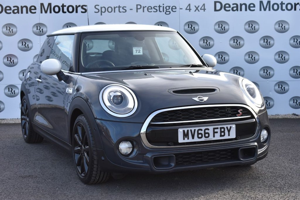 USED 2016 66 MINI HATCH COOPER 2.0 COOPER S 3d 189 BHP CHILLI PACK