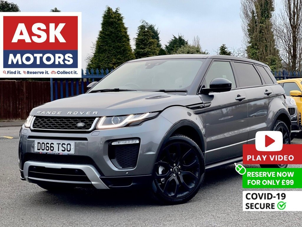 USED 2016 66 LAND ROVER RANGE ROVER EVOQUE 2.0 TD4 HSE DYNAMIC 5d 177 BHP REVERSE CAM SATNAV PAN ROOF