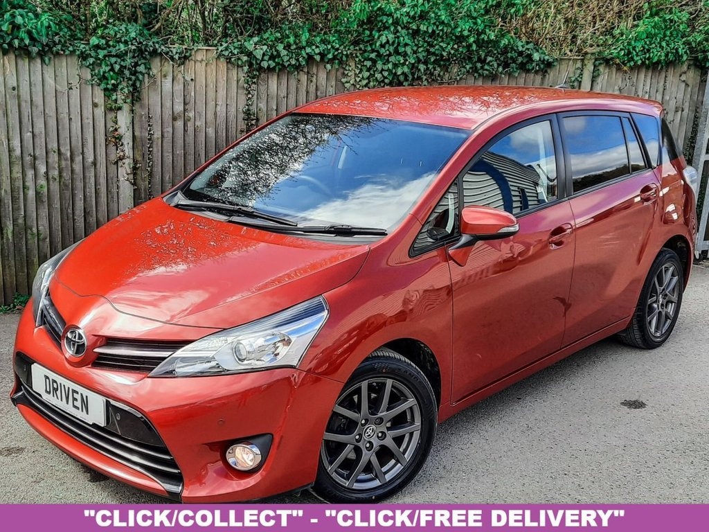 USED 2015 65 TOYOTA VERSO 1.6 D-4D TREND 5d 122 BHP