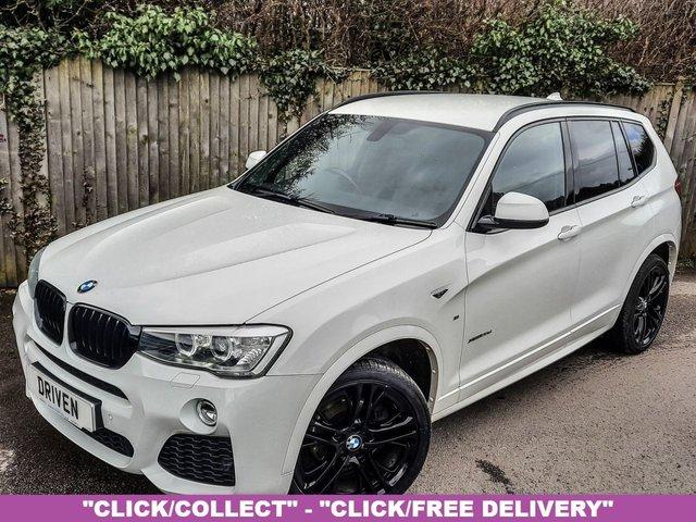 2014 14 BMW X3 2.0 XDRIVE20D M SPORT 5d 188 BHP