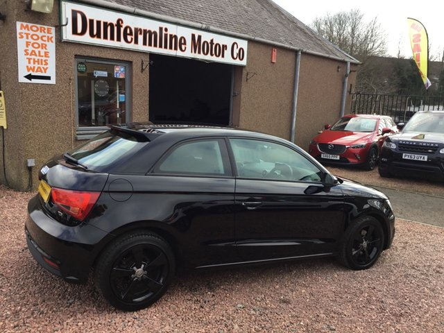 USED 2015 15 AUDI A1 1.6 TDI SPORT 3d 114 BHP ++ LOW MILEAGE DIESEL +ZERO ROAD TAX++