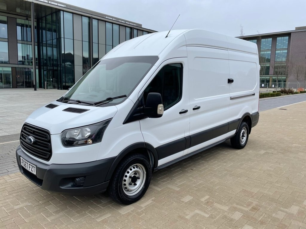 USED 2017 67 FORD TRANSIT 350 2.0TDCI EURO 6 130ps L3 H3 *BLUETOOTH*2xKEYS*FSH* EURO 6-L3 H3-BLUETOOTH-2xKEYS