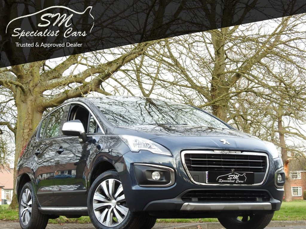 USED 2015 65 PEUGEOT 3008 1.6 BLUE HDI S/S ACTIVE 5d 120 BHP ONLY 3K MILES FROM NEW A/C VGC