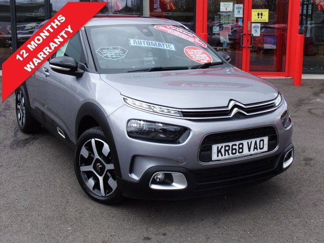 USED 2018 68 CITROEN C4 CACTUS 1.2 PURETECH FLAIR S/S EAT6 5d 109 BHP *****12 Months Warranty*****