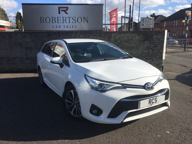 USED 2015 65 TOYOTA AVENSIS 1.6 D-4D BUSINESS EDITION PLUS 5dr HIGH SPEC DIESEL ESTATE £20 ROAD TAX