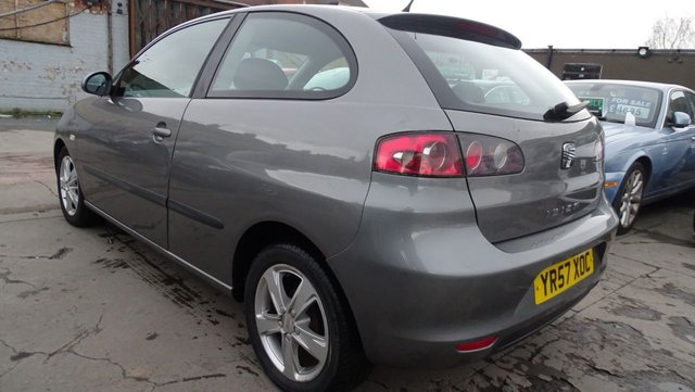 USED 2007 57 SEAT IBIZA 1.4 REFERENCE SPORT TDI 3d 79 BHP 1 YEAR MOTINCLUDED £30 ROAD TAX