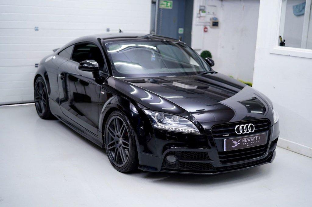 USED 2013 63 AUDI TT 2.0 TD Black Edition quattro 2dr SATELLITE NAVIGATION PLUS