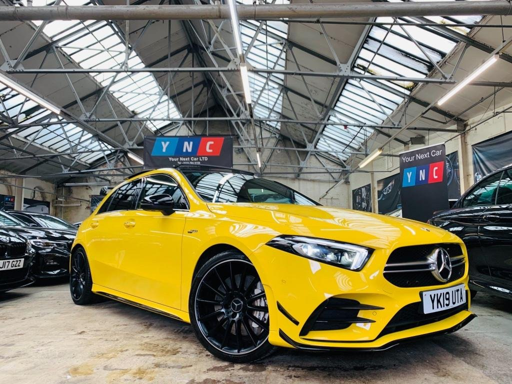 USED 2019 19 MERCEDES-BENZ A-CLASS 2.0 A35 AMG (Premium Plus) SpdS DCT 4MATIC (s/s) 5dr PREMIUM AND AERO PACK!