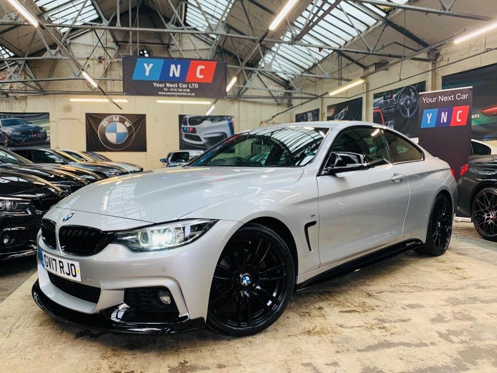 USED 2017 17 BMW 4 SERIES 2.0 420d M Sport Auto (s/s) 2dr PERFORMANCE KIT 19S 1 OWN