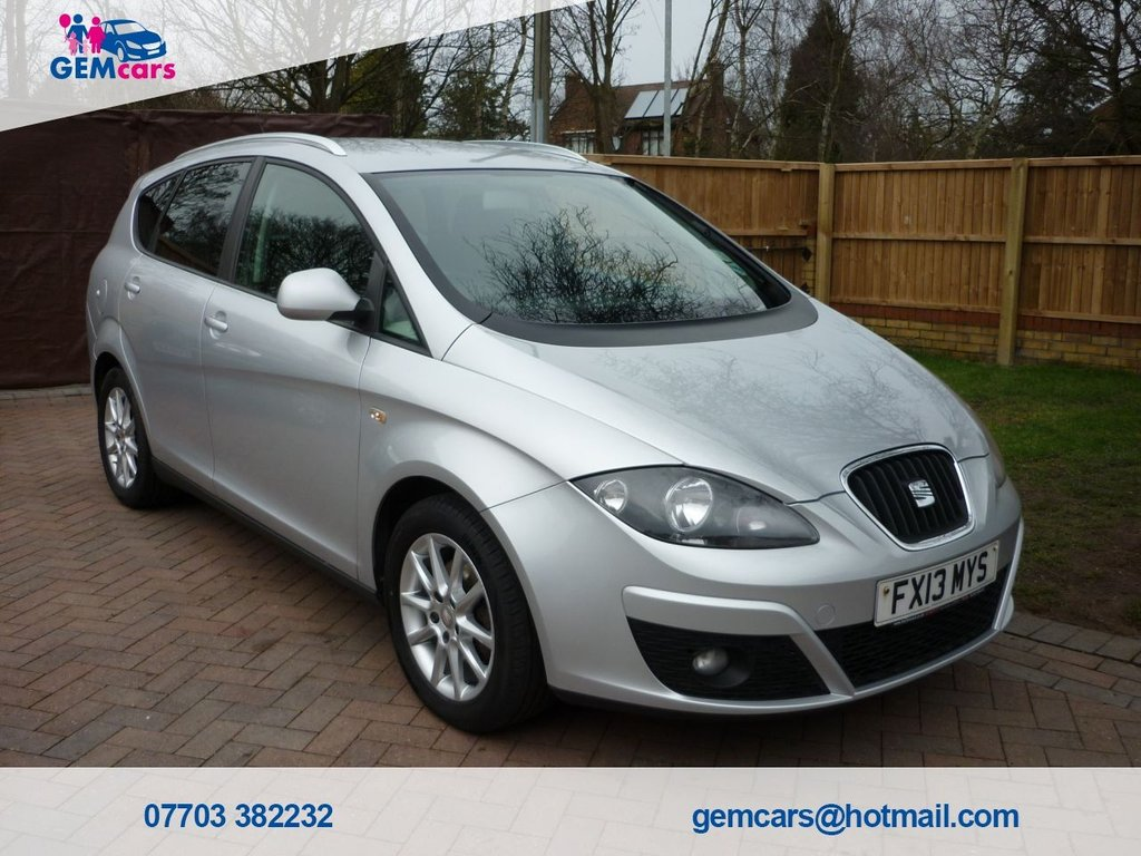 USED 2013 13 SEAT ALTEA XL 1.6 CR TDI ECOMOTIVE SE 5d 103 BHP GO TO OUR WEBSITE TO WATCH A FULL WALKROUND VIDEO