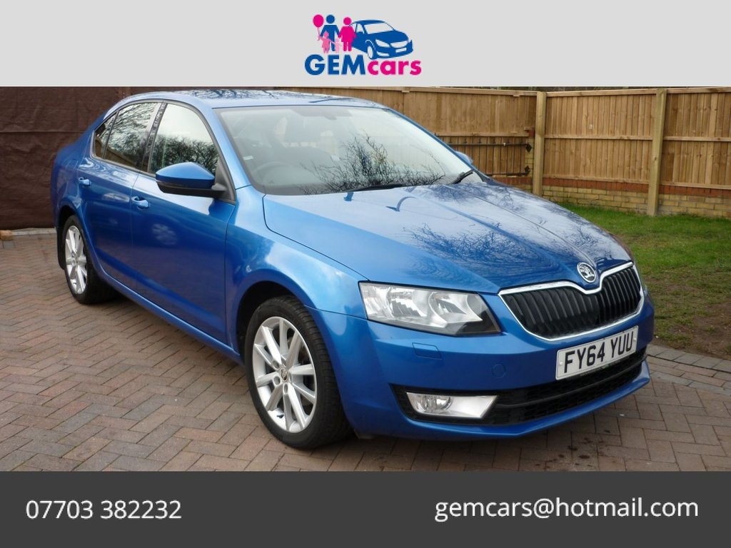 USED 2014 64 SKODA OCTAVIA 2.0 ELEGANCE TDI CR 5d 148 BHP GO TO OUR WEBSITE TO WATCH A FULL WALKROUND VIDEO
