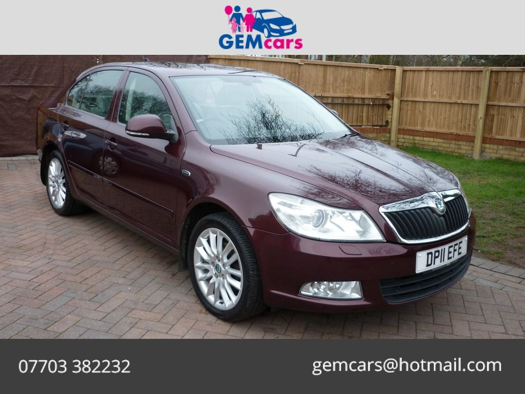 USED 2011 11 SKODA OCTAVIA 1.8 LAURIN & KLEMENT TSI DSG 5d 159 BHP GO TO OUR WEBSITE TO WATCH A FULL WALKROUND VIDEO