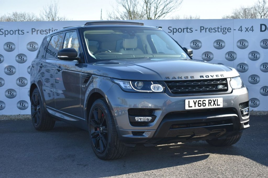 USED 2017 66 LAND ROVER RANGE ROVER SPORT 3.0 SDV6 AUTOBIOGRAPHY DYNAMIC 5d 306 BHP STEALTH PACK