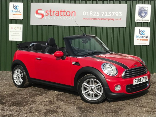 USED 2010 60 MINI CONVERTIBLE 1.6 COOPER 2d 122 BHP ONLY 50,869 MILES