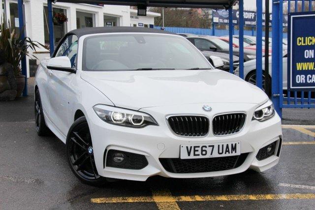 2017 67 BMW 2 SERIES 2.0 220D M SPORT 2d 188 BHP