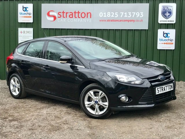 USED 2011 11 FORD FOCUS 1.6 ZETEC 5d 124 BHP ONLY 49,571 MILES
