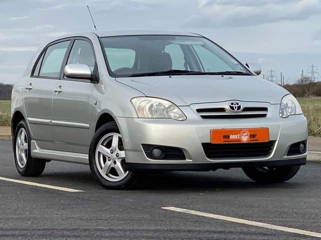 USED 2005 05 TOYOTA COROLLA 1.6 T3 COLOUR COLLECTION VVT-I 5d AUTO 109 BHP 1 OWNER LOW MILEAGE ONLY 45K