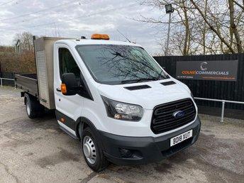 2018 FORD TRANSIT T350 S/CAB L3 TIPPER (EURO 6)(TOOLBOX) £21950.00