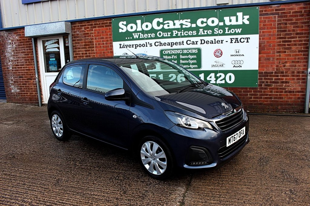USED 2017 PEUGEOT 108 1.0 Active 5dr +AC +BLUETOOTH DAB +CRUISE.
