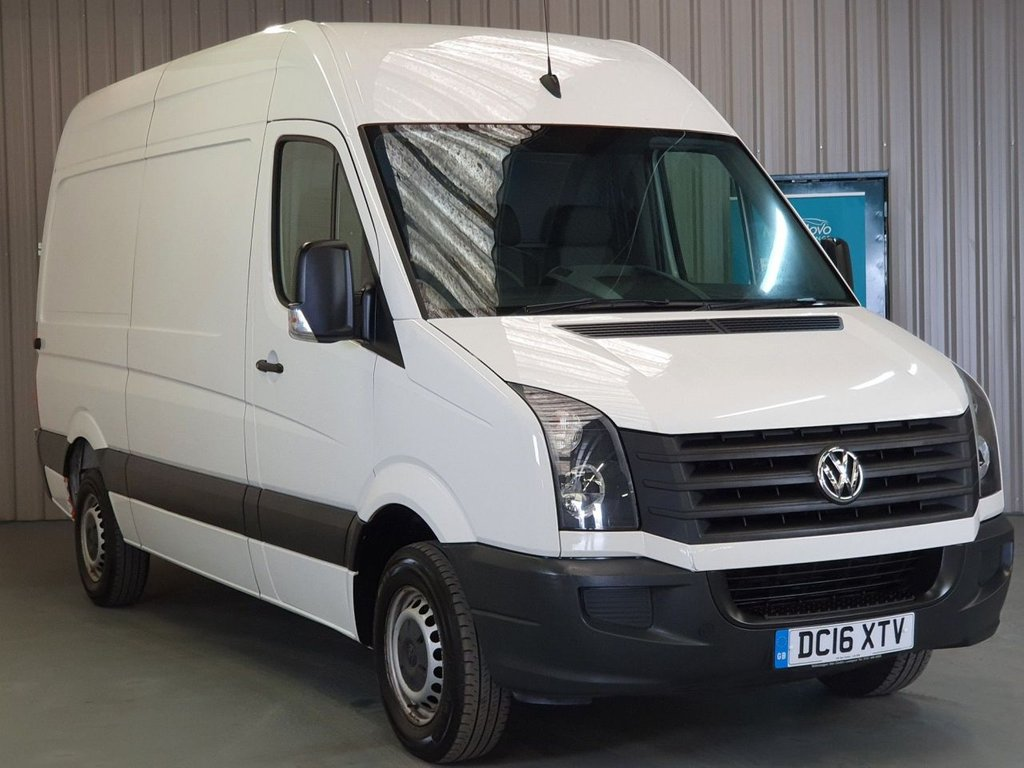 USED 2016 16 VOLKSWAGEN CRAFTER 2.0 CR35 TDI M P/V BMT 107 BHP