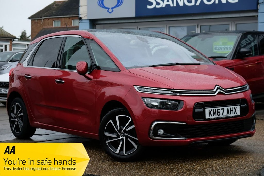 USED 2017 67 CITROEN C4 PICASSO 1.6 BLUEHDI FLAIR S/S EAT6 5d 118 BHP AUTOMATIC AVAILABLE FOR £219 PER MONTH £0 DEPOSIT