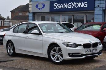 2014 BMW 3 SERIES 2.0 316D SPORT 4d 114 BHP £10950.00