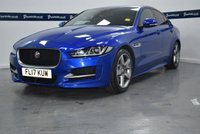 USED 2017 17 JAGUAR XE 2.0 R-SPORT 4d 180 BHP (SAT NAV - PRIVACY - LEATHER)
