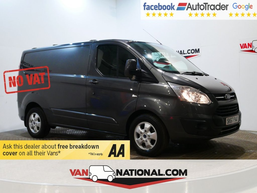 USED 2017 67 FORD TRANSIT CUSTOM 2.0 290 LIMITED LR 170 BHP AUTOMATIC *NO VAT*NO VAT*NO VAT* (2.0 TDCI 170 290 LIMITED AUTOMATIC *EURO 6*AIR CON*) * NO VAT * EURO 6 * AUTO * 170 BHP * ZERO DEPOSIT FINANCE AVAILABLE *