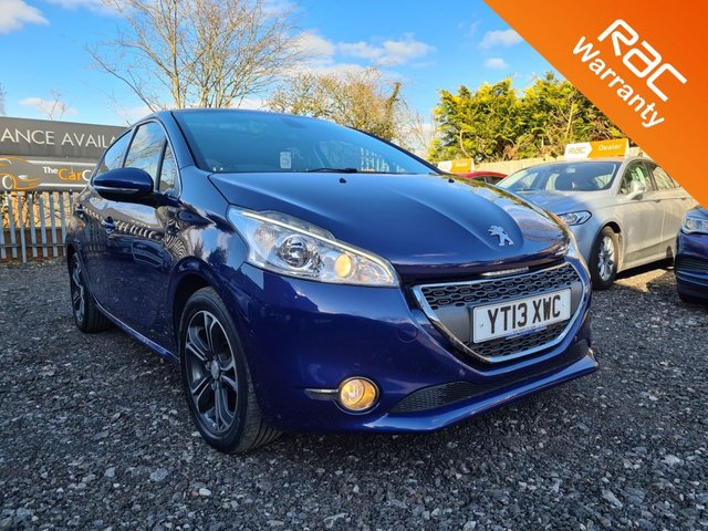 USED 2013 13 PEUGEOT 208 1.2 INTUITIVE 5d 82 BHP