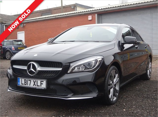 USED 2017 17 MERCEDES-BENZ CLA 2.1 CLA 220 D SPORT 4d 174 BHP 3 SERVICE STAMPS / 1 FORMER KEEPER