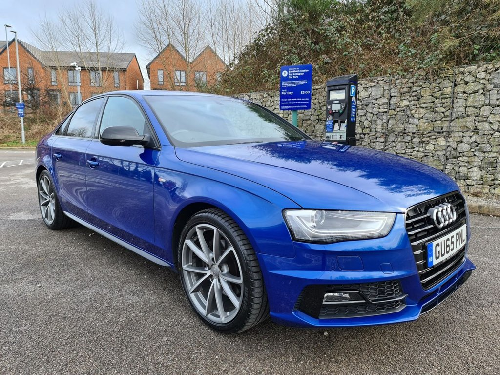 USED 2015 65 AUDI A4 2.0 TDI BLACK EDITION PLUS 4d 174 BHP Free Next Day Nationwide Delivery