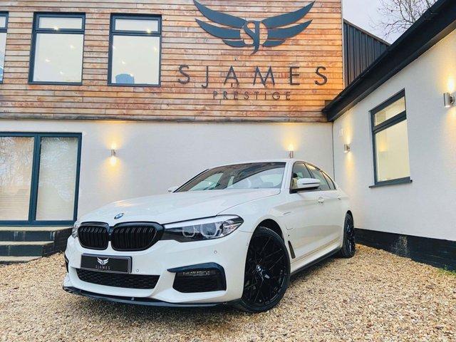 2018 68 BMW 5 SERIES 2.0 530E M SPORT 4d AUTO 249 BHP