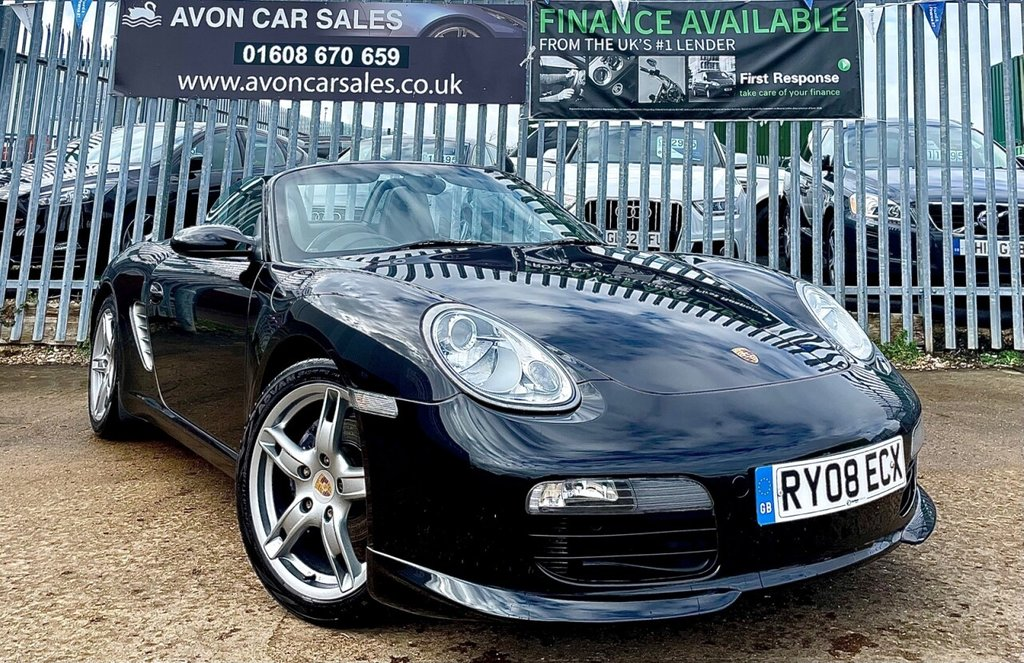 USED 2008 08 PORSCHE BOXSTER 2.7 24V SPORT EDITION 2d 242 BHP AUTOMATIC! - COMPREHENSIVE SERVICE HISTORY! 2 PREV OWNERS!
