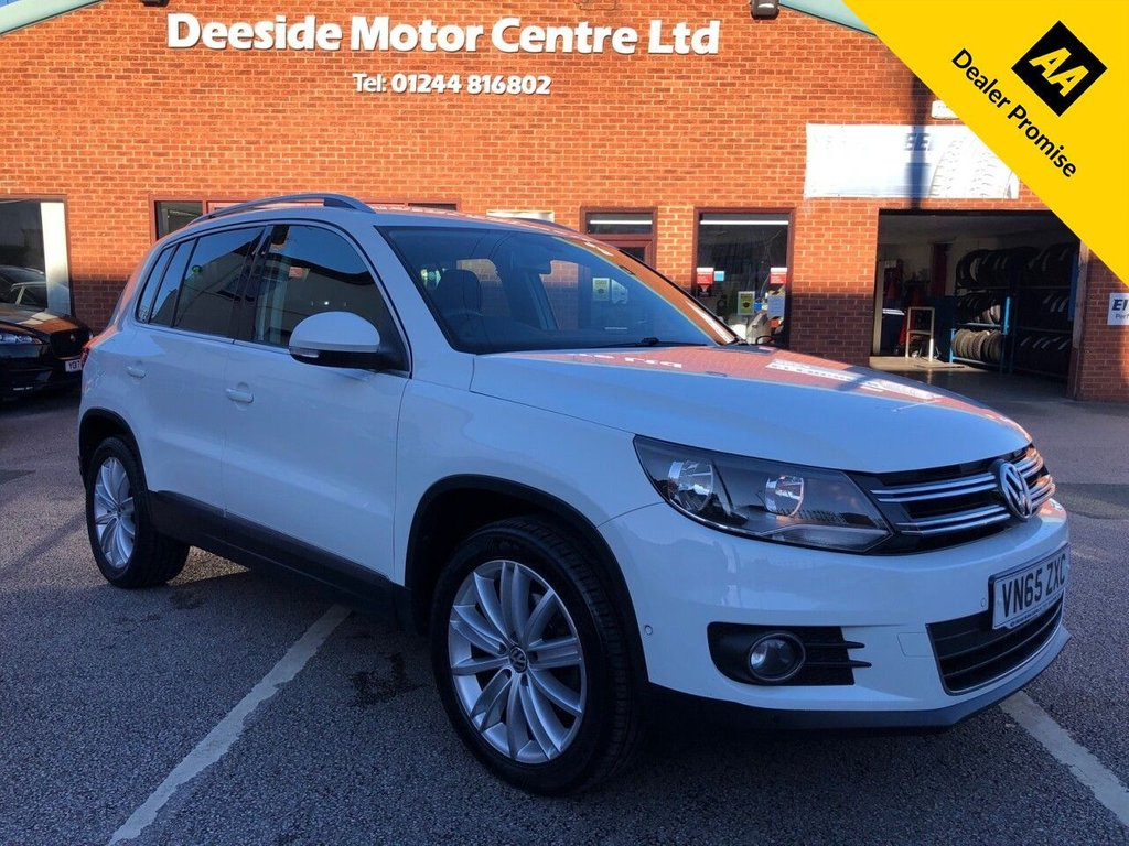 USED 2015 65 VOLKSWAGEN TIGUAN 2.0 MATCH EDITION TDI BMT 5d 148 BHP CAMBELT RECENTLY REPLACED